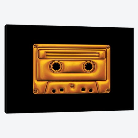 Cassette Canvas Print #OMU155} by Octavian Mielu Canvas Print