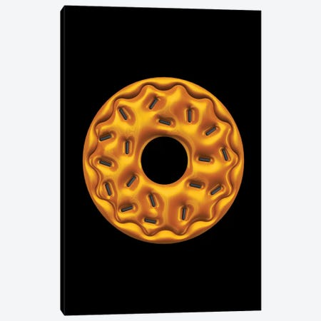 Donut Canvas Print #OMU157} by Octavian Mielu Canvas Print