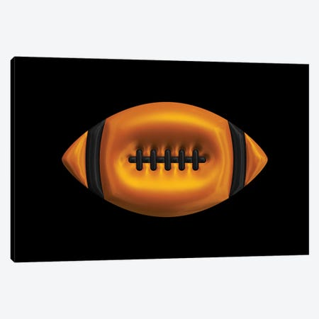 Football Canvas Print #OMU158} by Octavian Mielu Canvas Artwork