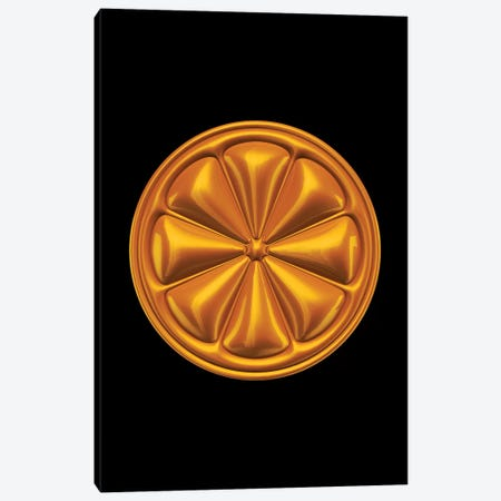 Orange Canvas Print #OMU162} by Octavian Mielu Canvas Print