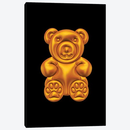 Teddy Bear Canvas Print #OMU168} by Octavian Mielu Canvas Print