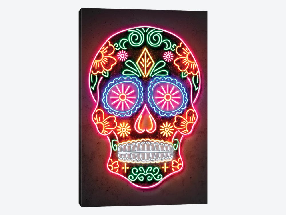 Day Of The Dead by Octavian Mielu 1-piece Canvas Wall Art