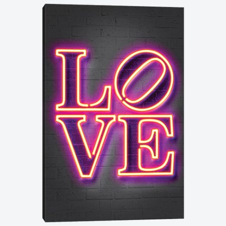 Love Canvas Print #OMU178} by Octavian Mielu Canvas Wall Art