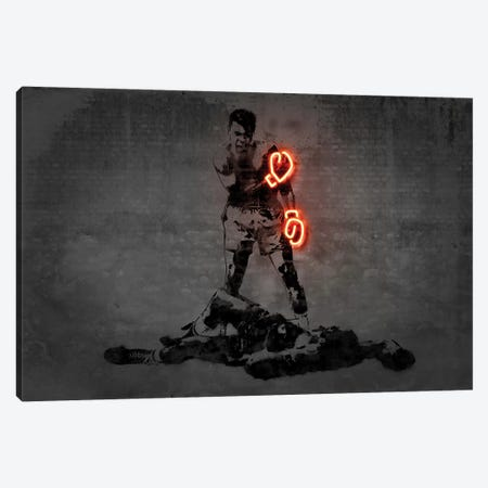 Ali Canvas Print #OMU179} by Octavian Mielu Canvas Wall Art