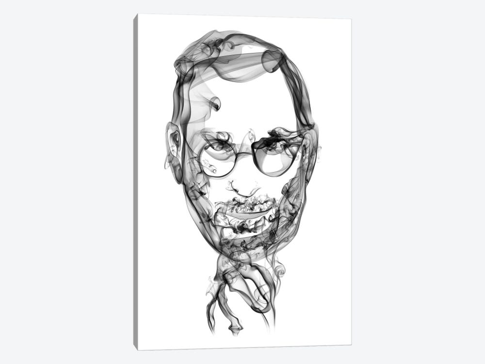 Steve Jobs by Octavian Mielu 1-piece Canvas Art
