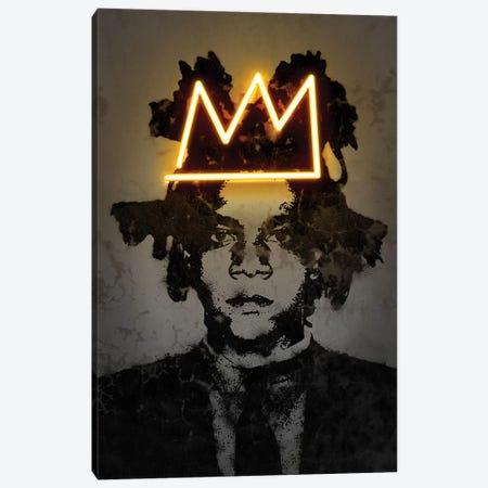 Basquiat Canvas Print #OMU180} by Octavian Mielu Canvas Print