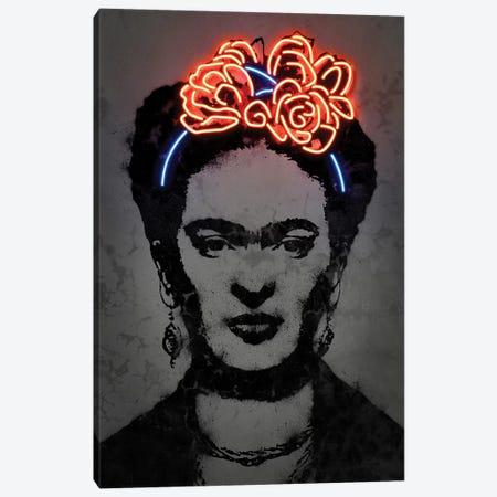 Frida Canvas Print #OMU181} by Octavian Mielu Canvas Art Print