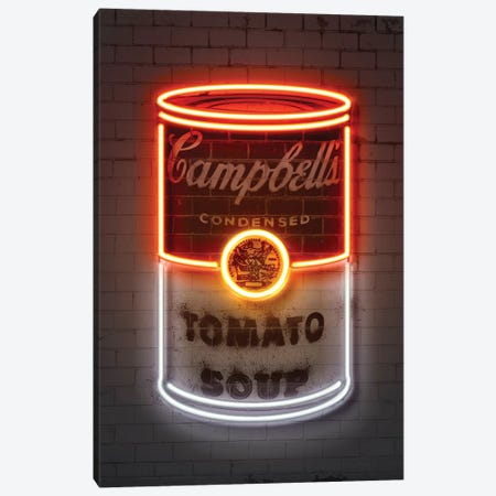 Soup can Canvas Print #OMU184} by Octavian Mielu Canvas Artwork