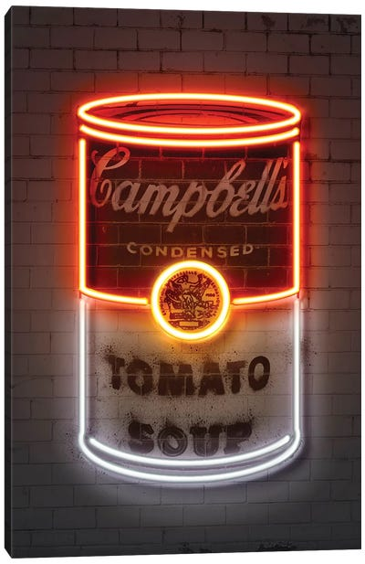 Soup can Canvas Art Print
