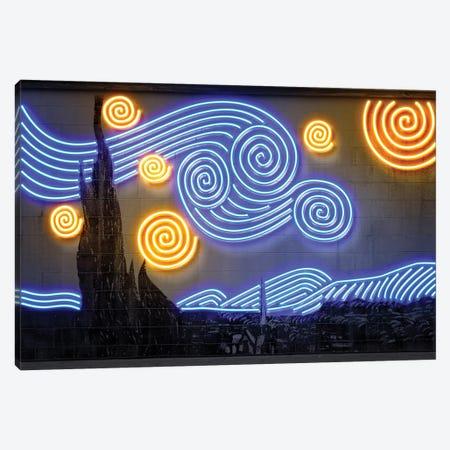Starry Night Canvas Print #OMU188} by Octavian Mielu Canvas Print