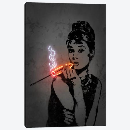 Audrey Canvas Print #OMU195} by Octavian Mielu Canvas Print