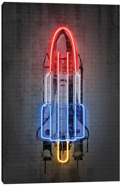 Rocket Canvas Art Print