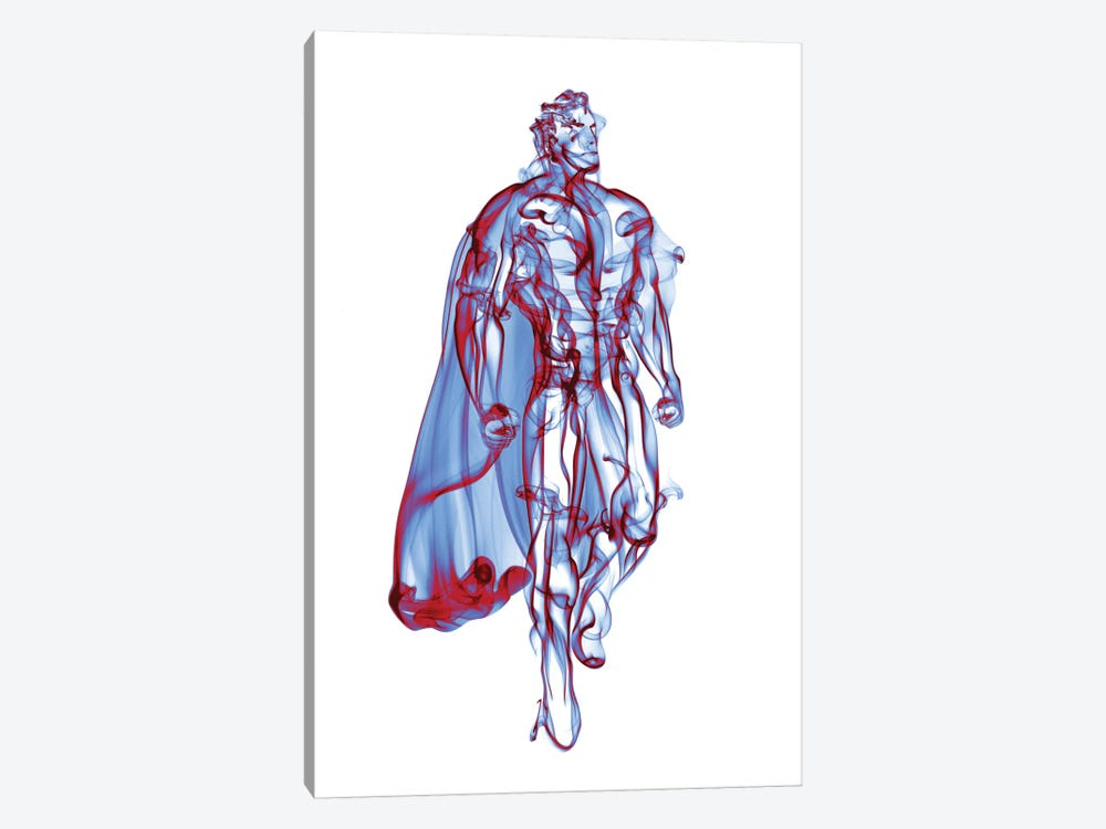 Superman by Octavian Mielu 1-piece Canvas Wall Art