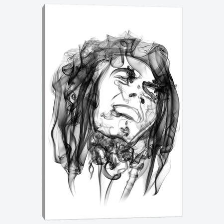 Bob Marley Canvas Print #OMU1} by Octavian Mielu Canvas Art