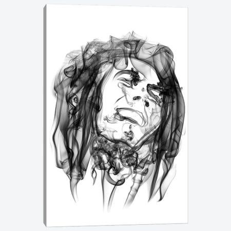 Bob Marley Canvas Print #OMU1} by Octavian Mielu Canvas Art