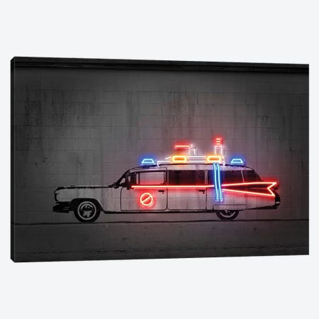 Ghost Car Canvas Print #OMU200} by Octavian Mielu Canvas Artwork