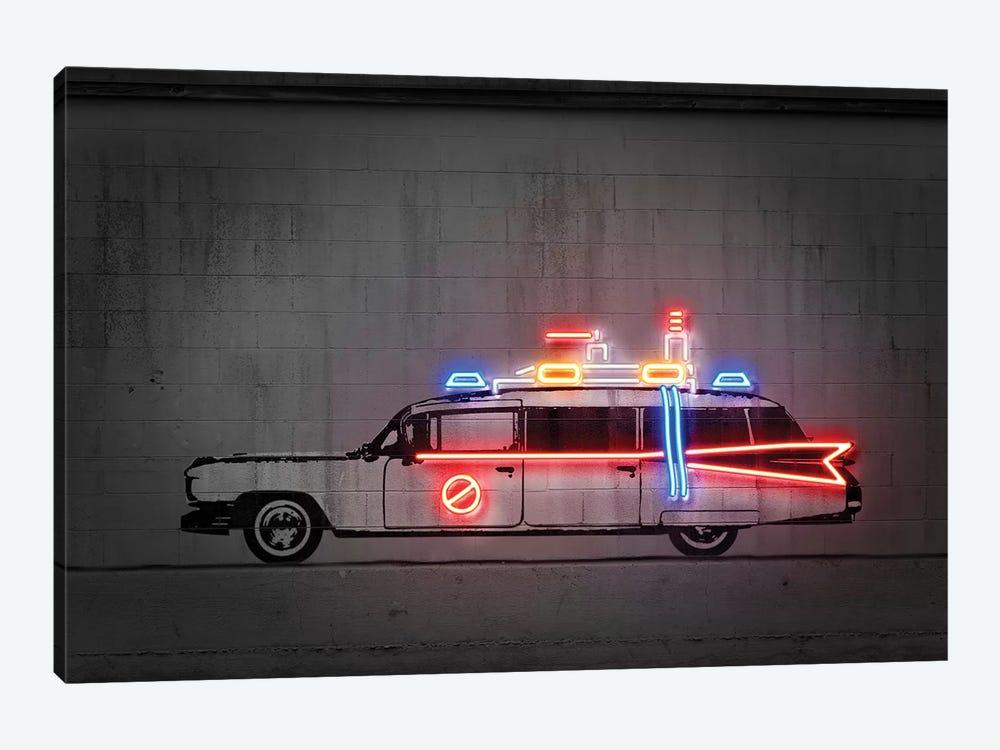 Ghost Car by Octavian Mielu 1-piece Canvas Print
