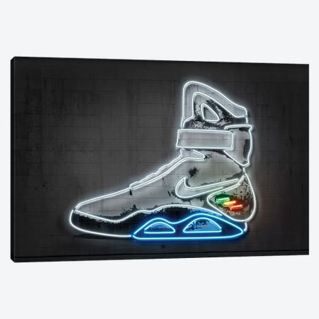 Future Sneaker Canvas Print #OMU204} by Octavian Mielu Canvas Art Print