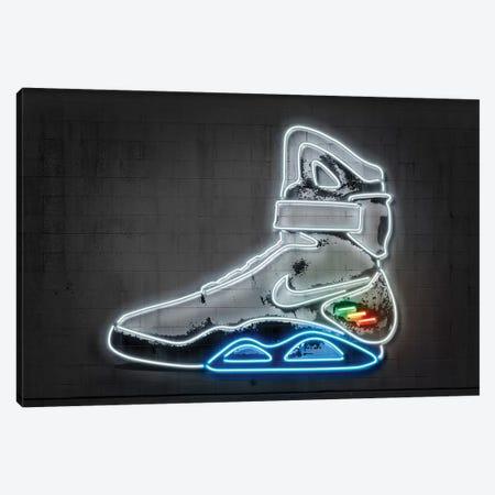 Future Sneaker Canvas Print #OMU204} by Octavian Mielu Canvas Art Print