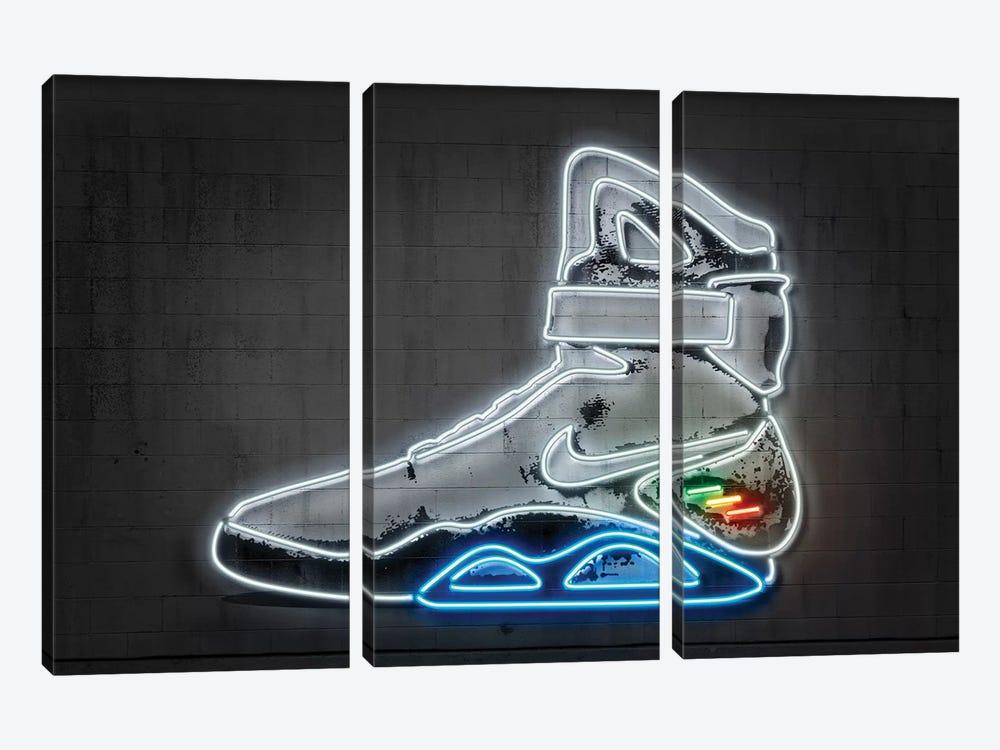 Future Sneaker by Octavian Mielu 3-piece Canvas Art Print