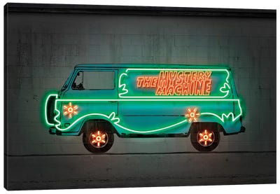 Mystery Car Canvas Art Print