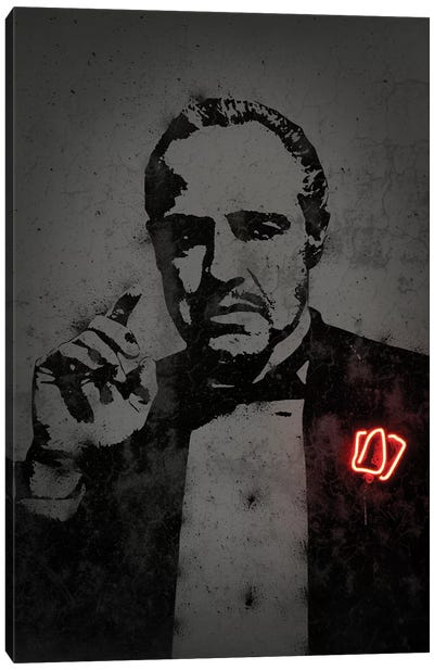 Godfather Canvas Art Print