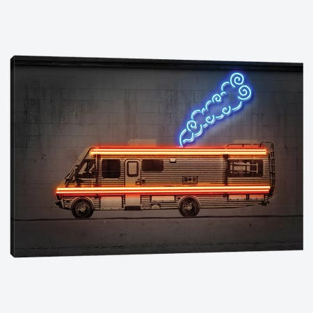 Cooking Car Canvas Print #OMU212} by Octavian Mielu Canvas Art Print