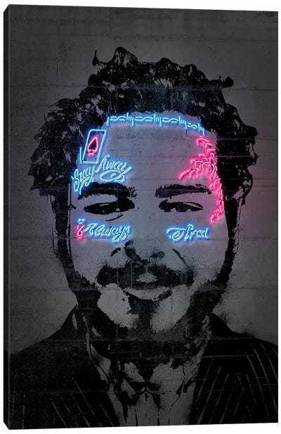 Post Malone Canvas Art Print