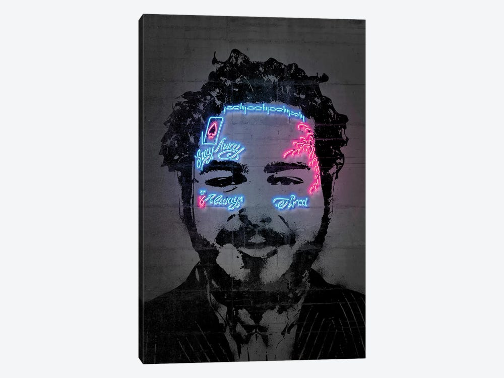 Post Malone by Octavian Mielu 1-piece Canvas Artwork