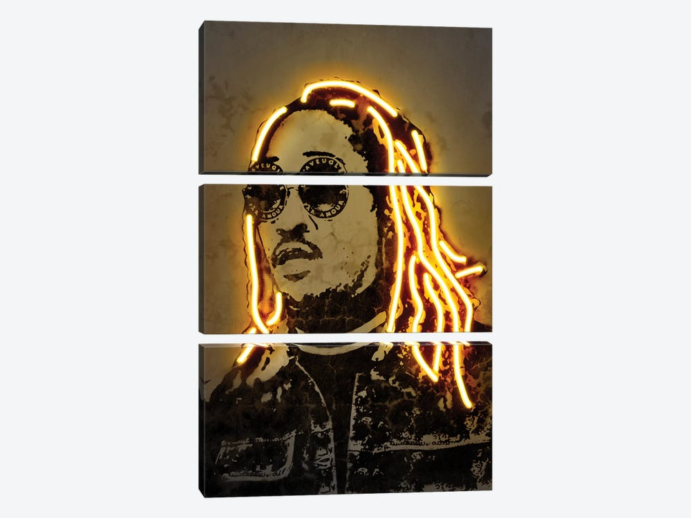 Future by Octavian Mielu 3-piece Canvas Art Print