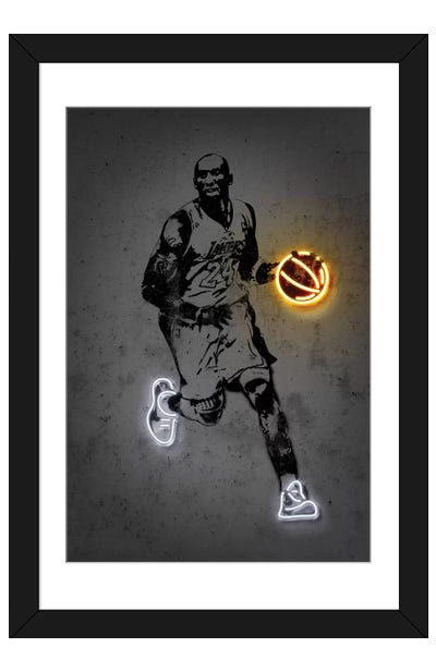 Kobe Framed Art Print