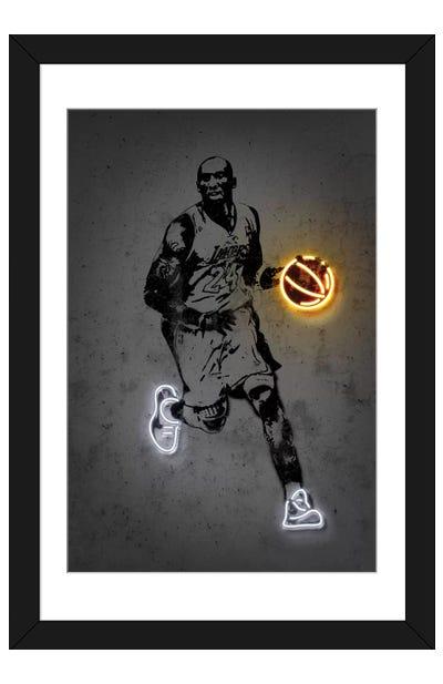 Kobe Framed Art Print