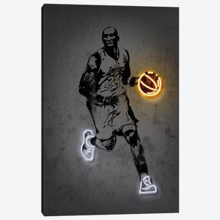 Kobe Canvas Print #OMU222} by Octavian Mielu Canvas Art