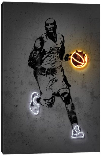Kobe Canvas Art Print