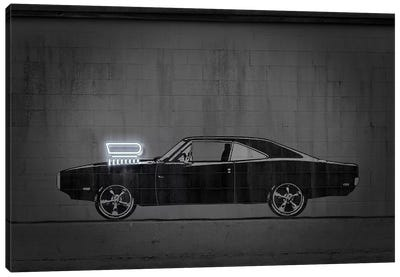 Charger Canvas Art Print