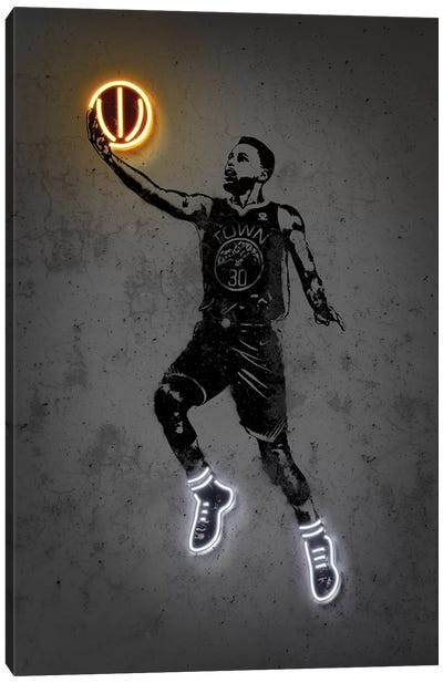 Curry Canvas Art Print