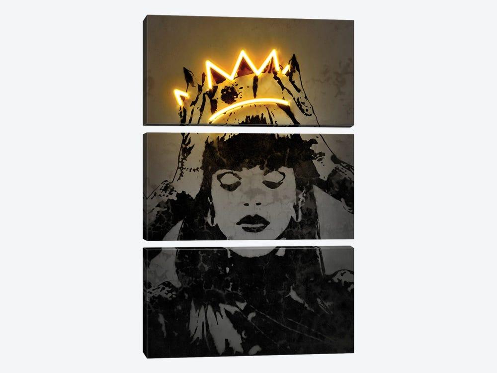 Rihanna by Octavian Mielu 3-piece Canvas Wall Art