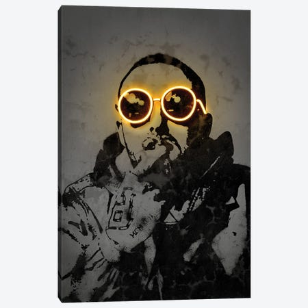 Mac Miller Canvas Print #OMU239} by Octavian Mielu Canvas Art Print