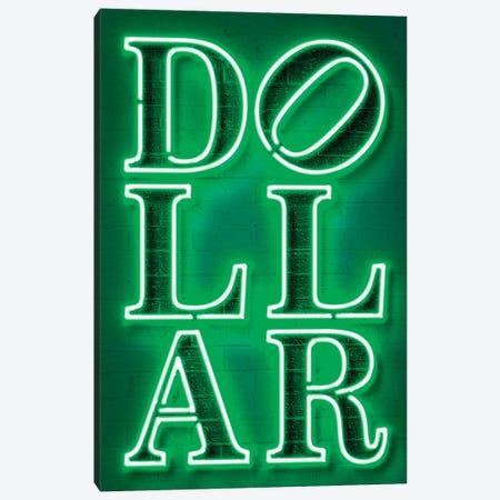 Dollar Canvas Print #OMU248} by Octavian Mielu Canvas Artwork