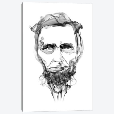 Abraham Lincoln Canvas Print #OMU25} by Octavian Mielu Canvas Print