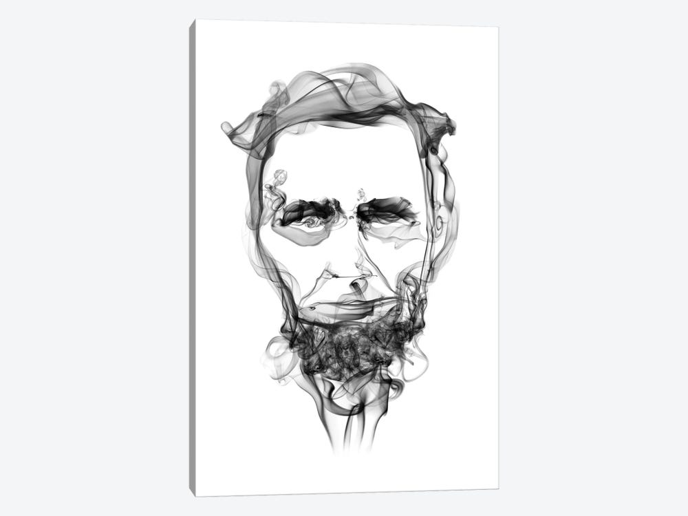Abraham Lincoln by Octavian Mielu 1-piece Art Print