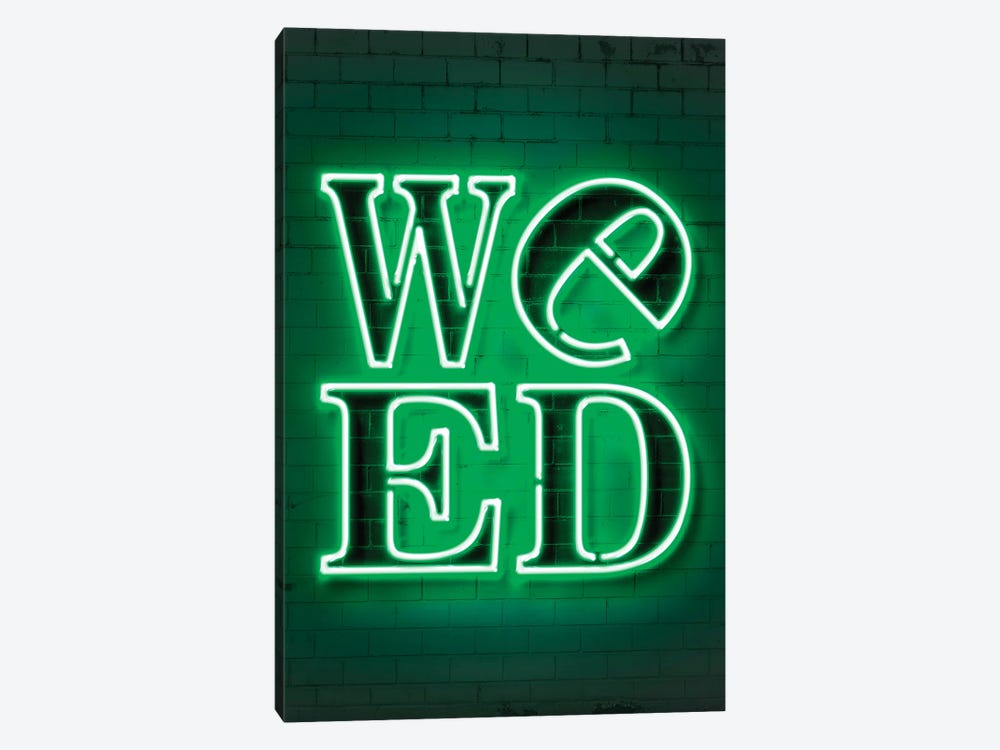 Weed by Octavian Mielu 1-piece Canvas Print
