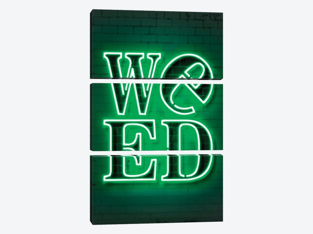 Weed by Octavian Mielu 3-piece Art Print