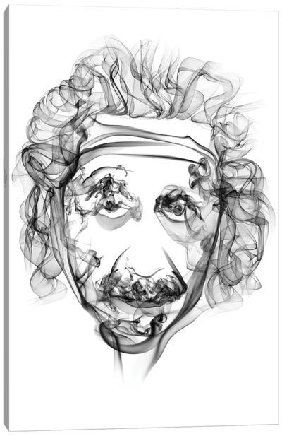 Albert Einstein Canvas Print #OMU26