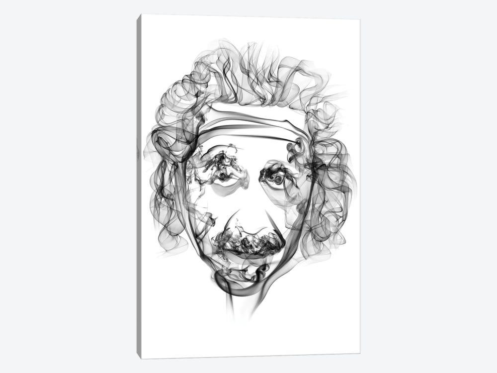 Albert Einstein by Octavian Mielu 1-piece Canvas Artwork