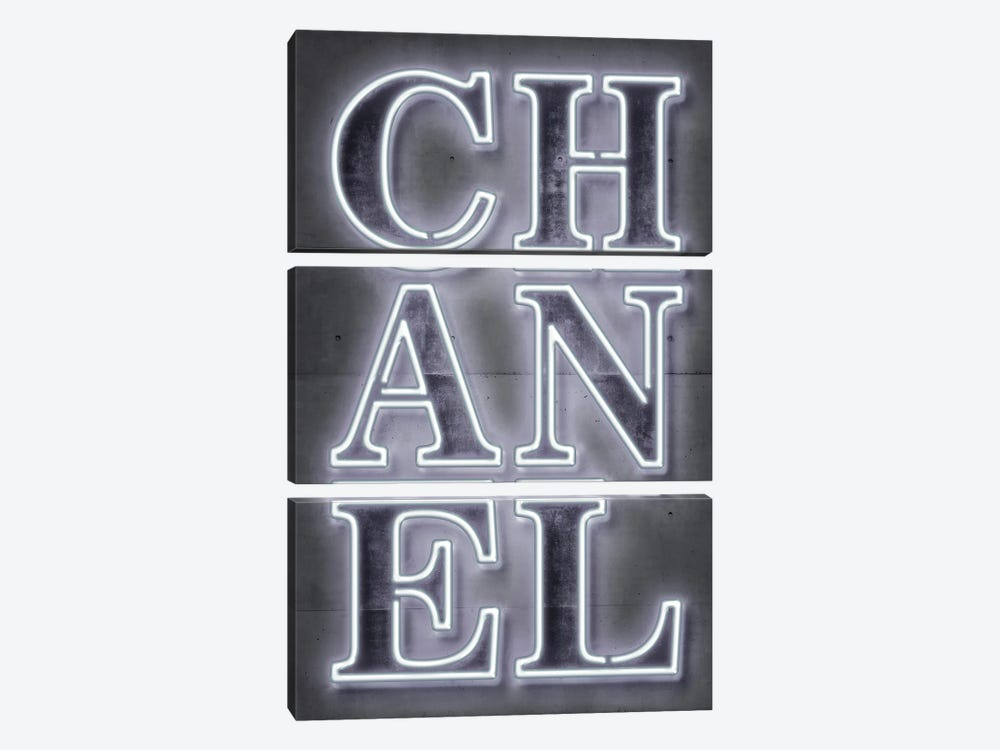 Chanel by Octavian Mielu 3-piece Canvas Print