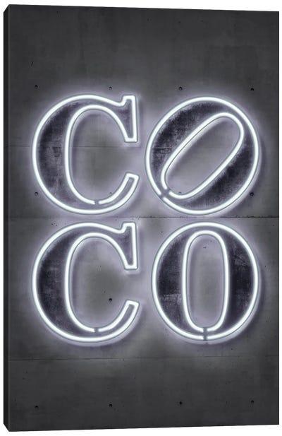 Coco Canvas Art Print