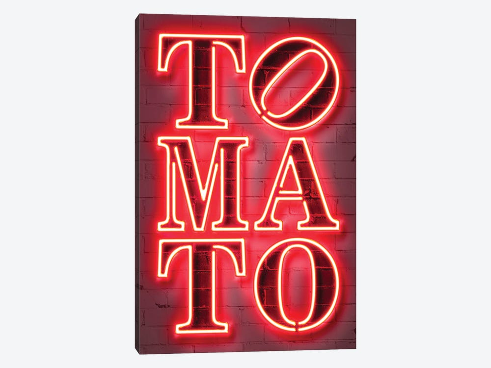 Tomato by Octavian Mielu 1-piece Canvas Art