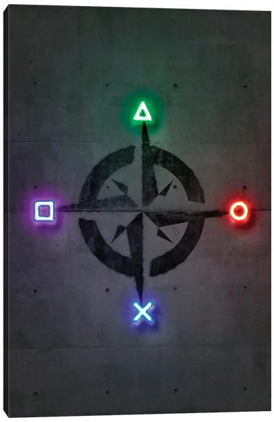 Game Directions Canvas Art Print