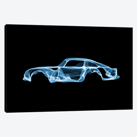 Aston Martin Canvas Print #OMU28} by Octavian Mielu Canvas Wall Art